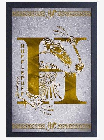 Harry Potter Hufflepuff Poster