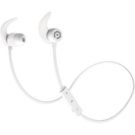 White POM GEAR Fit Pro Wired & Wireless Sport Earbuds