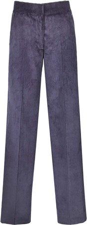 Blaze Milano Classic Touch Velvet Wide-Leg Pants