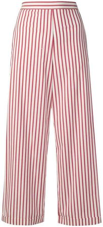 'S striped cropped trousers