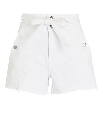 FRAME Le Brigette Denim Shorts | INTERMIX®