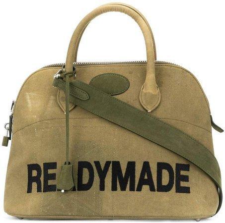Readymade woven tote bag