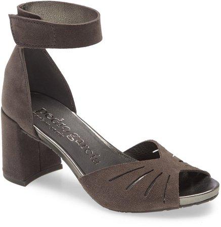 Witt Block Heel Ankle Strap Sandal