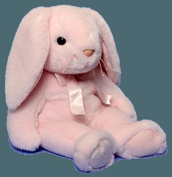 pink bunny rabbit beaniebabies soft freetoedit...
