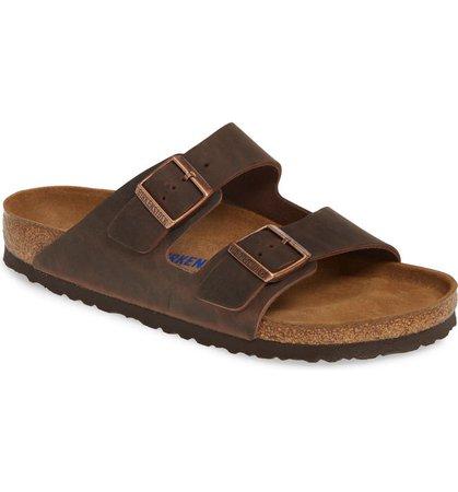 Birkenstock Arizona Soft Slide Sandal (Men) | Nordstrom