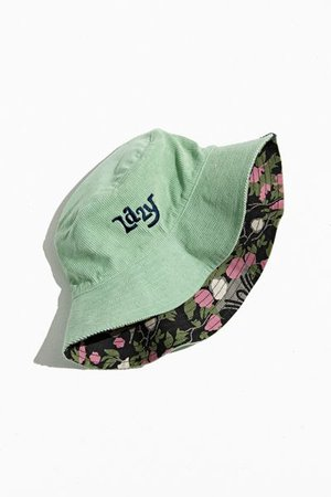 Lazy Oaf Nip It In The Bud Reversible Bucket Hat | Urban Outfitters