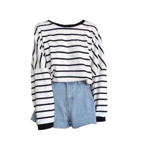 striped shirt png outfit clothing