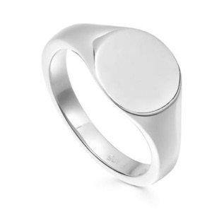 silver signet ring missoma