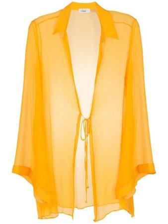 Amir Slama silk beach dress - FARFETCH
