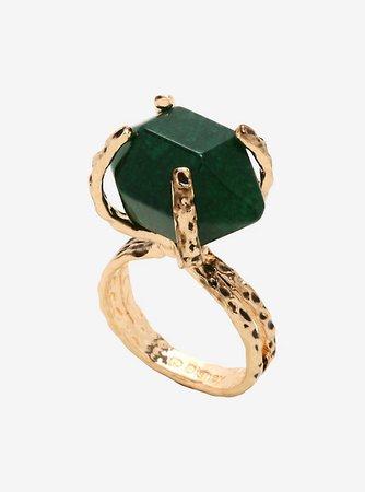 Disney Maleficent: Mistress Of Evil Green Stone Ring