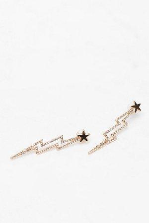 Star Lightening Earrings | Nasty Gal