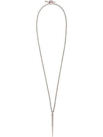 Parts Of Four Long Pendant Necklace