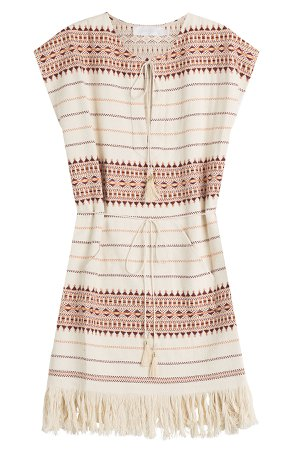 Embroidered Cotton Tunic Gr. 1