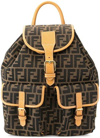 PRE-OWNED Zucca pattern backpack