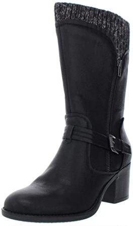 Amazon.com | BareTraps Women's Weslin Boot Black 9 M | Shoes