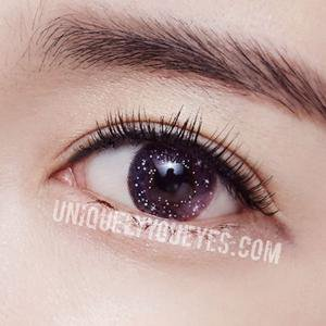 NEW ARRIVAL fairytale GLITTERING Pink Violet POLYFLEX CONTACT LENSES – UNIQUELY-YOU-EYES