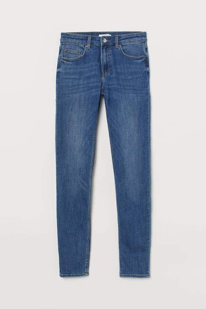 Skinny Fit Pants - Blue