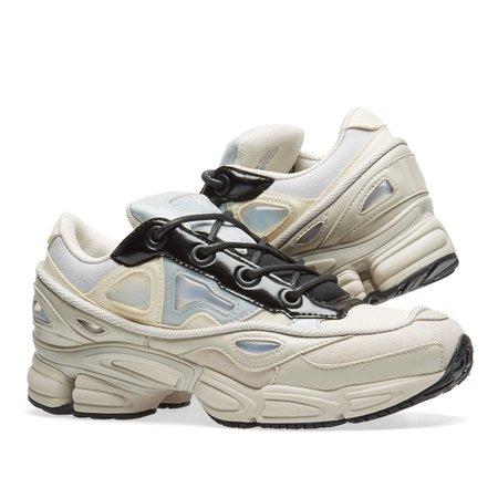 Very Goods | Adidas x Raf Simons Ozweego III (White, Stone & Black) | END.