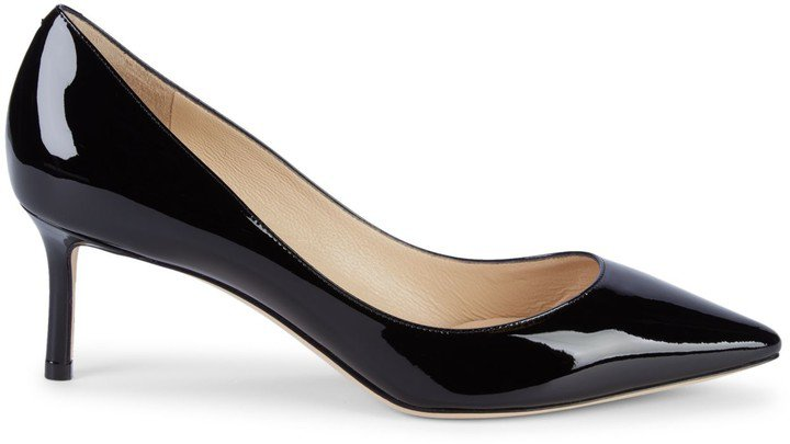 Romy Patent Leather Pumps