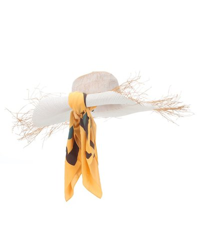 Le Chapeau Foulard straw hat