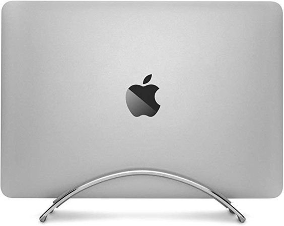 Amazon.com: Twelve South Bookarc for MacBook | Space-Saving Vertical Desktop Stand for Apple Notebooks (Silver): Computers & Accessories