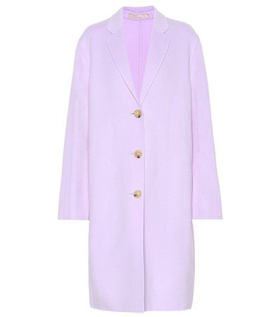 Avalon wool and cashmere coat
