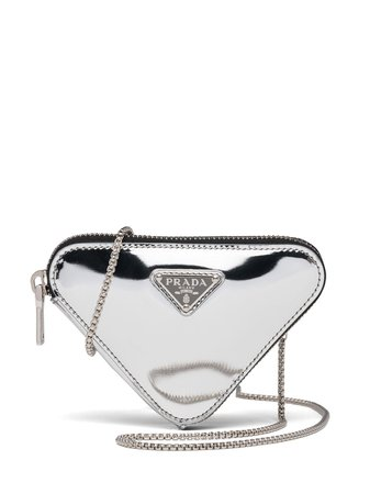 Prada Metallic Leather Mini Bag - Farfetch