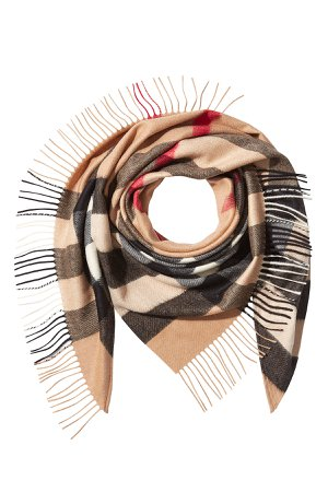 Printed Cashmere Scarf Gr. One Size