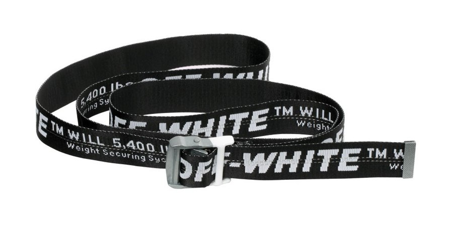 Off-White™'s Signature Industrial Belt Receives Exclusive Monochrome Makeover