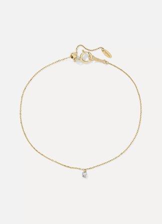 Gold Danae gold diamond bracelet   Persée   NET-A-PORTER