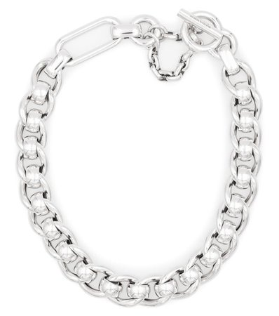 Bottega Veneta - Sterling silver chain necklace | Mytheresa