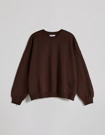 Oversized sweatshirt - Woman | Bershka