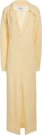 Nanushka Hope Wool Maxi Dress