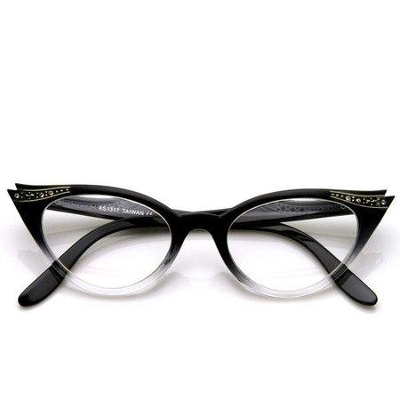 cat eye eyeglasses polyvore - Pesquisa Google