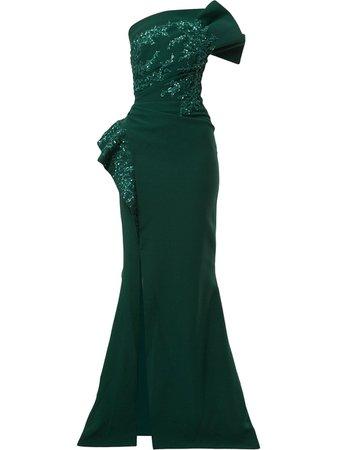Saiid Kobeisy Strapless Maxi Dress Ss20 | Farfetch.Com