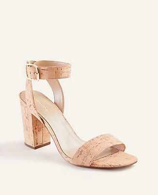 Corey Cork Block Heel Sandals