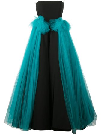 Christian Siriano tulle panel gown $4,972 - Shop SS19 Online - Fast Delivery, Price