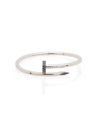 MAD Paris Bracelet Cartier Juste En Clou En Or Rose 18ct à Saphirs - Farfetch