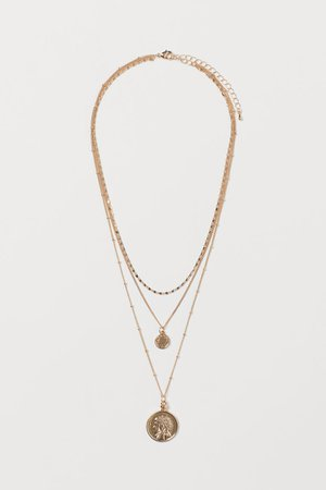 Multi-strand Necklace - Gold-colored - Ladies | H&M CA