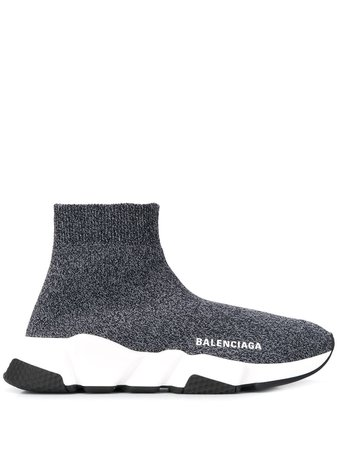 Balenciaga Speed Knitted Sneakers - Farfetch