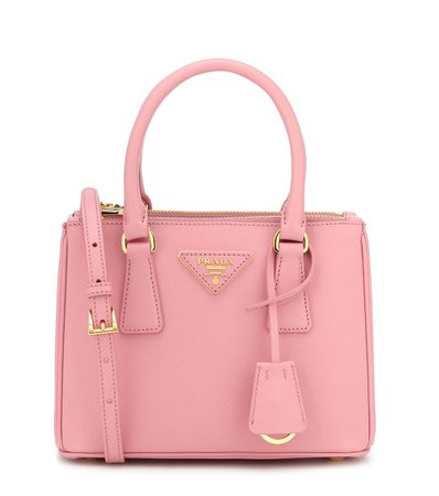 Galleria Mini Saffiano Leather Tote - Prada | Mytheresa
