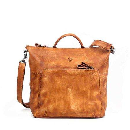 Messenger & Crossbody Bags   Shop Women's Rust Tassel Crossbody Bag at Fashiontage   OT16005-Chestnut