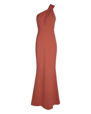 Katie May Edgy One-Shoulder Maxi Dress | INTERMIX®