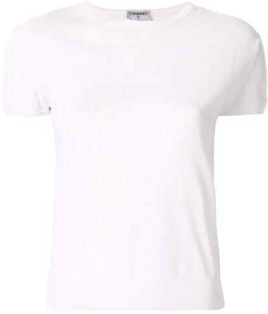 Pre-Owned CC logo T-shirt