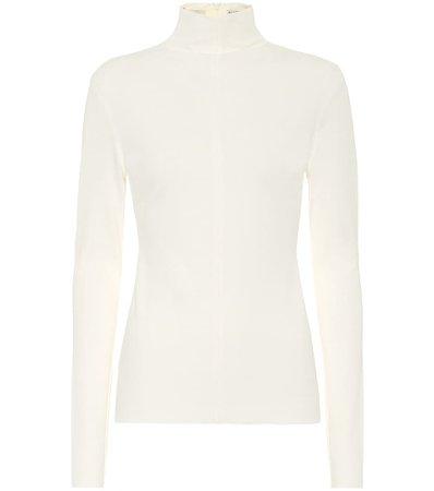 Bottega Veneta, Crêpe-jersey turtleneck sweater