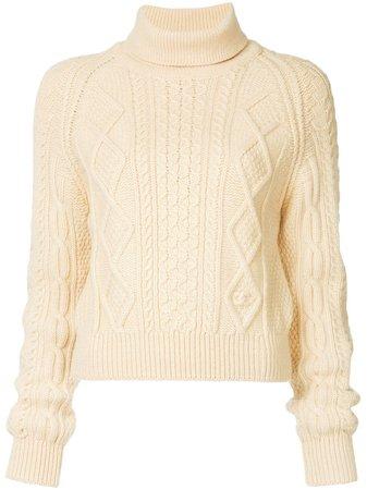 Chanel Pre-Owned Fisherman Roll Neck Sweater - Farfetch