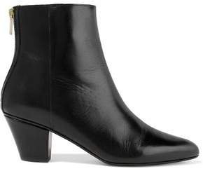 Atp Bea Glossed-leather Ankle Boots