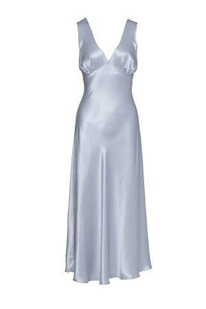 silk sleep gown