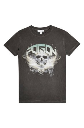 Topshop Poison Skull Graphic Tee | Nordstrom