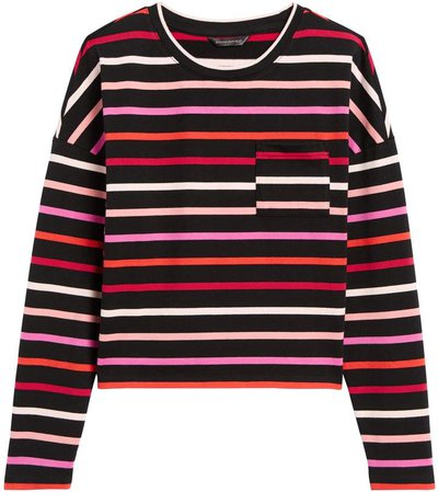 Boxy Stripe T-Shirt
